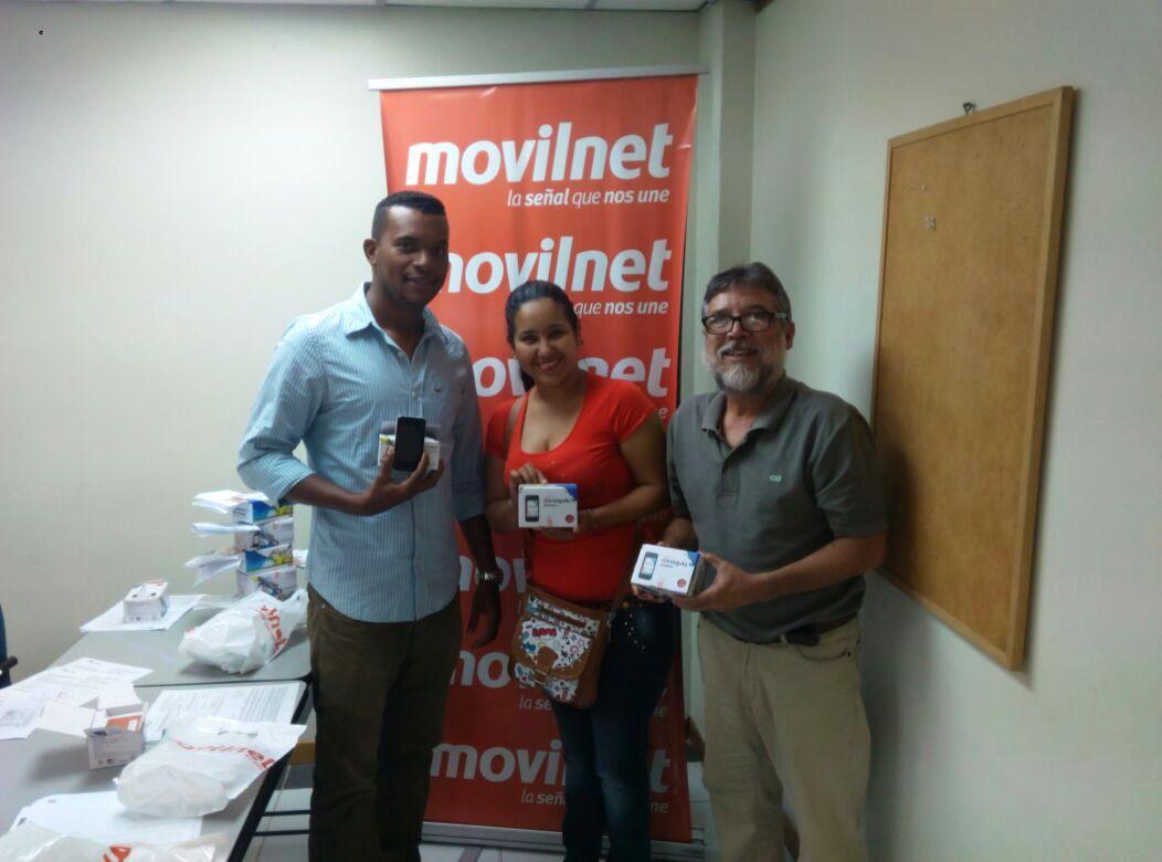 Con estas entregas Movilnet potencia la organización comunitaria.