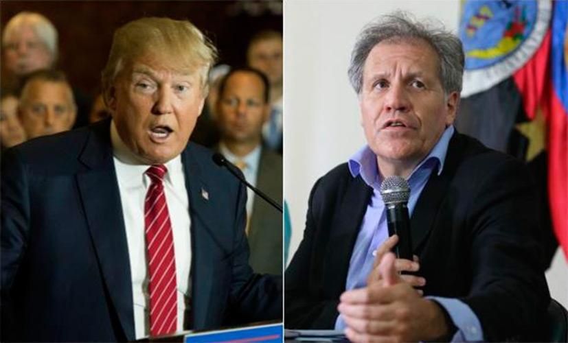 Almagro, Trump y la MUD IMAGEN
