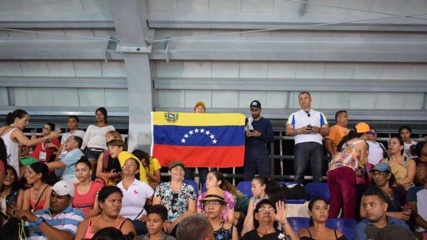 Fuente: Twitter juegos Bolivarianos
