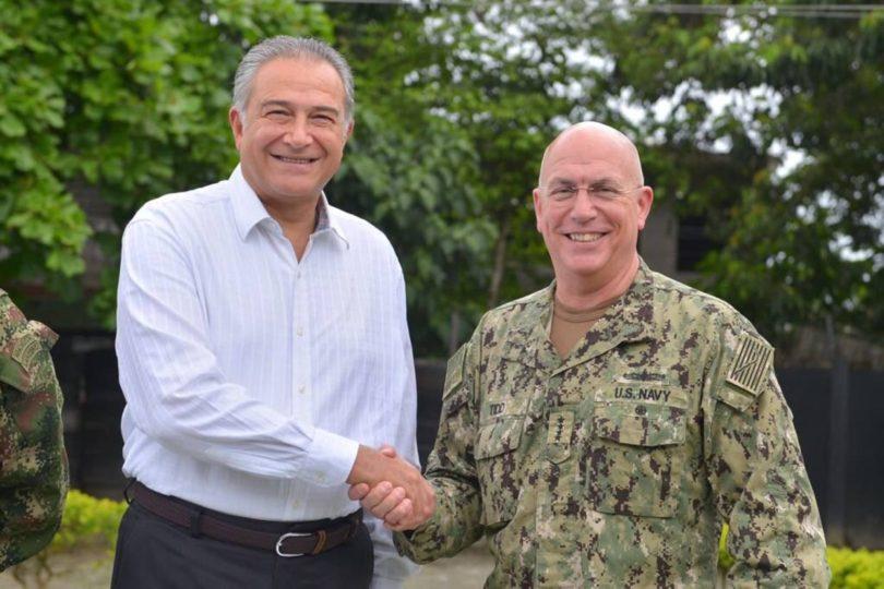 Comando Sur y el Vicepresidente de Colombia