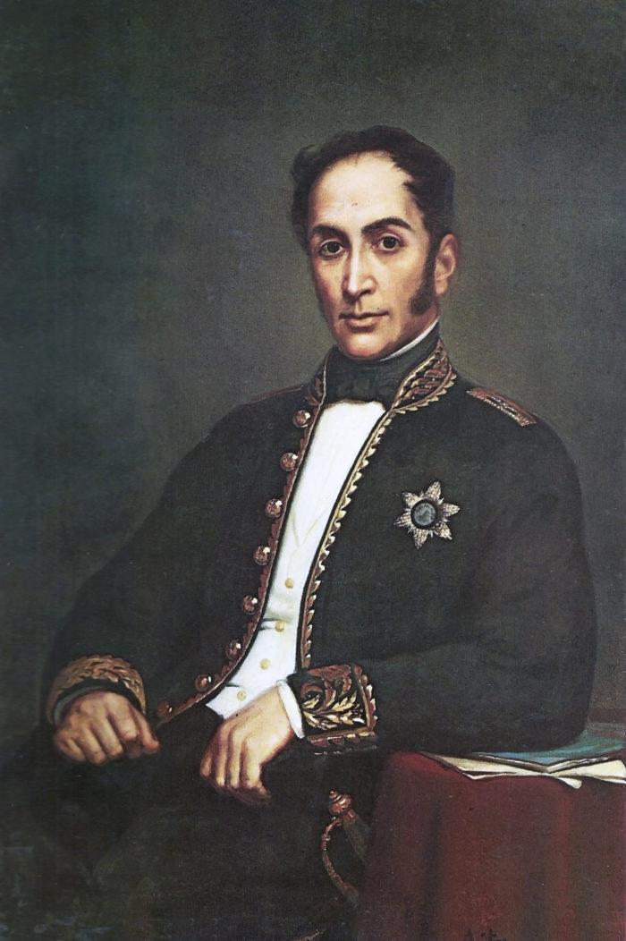 El Libertador Simón Bolívar también fue víctima de odio político.