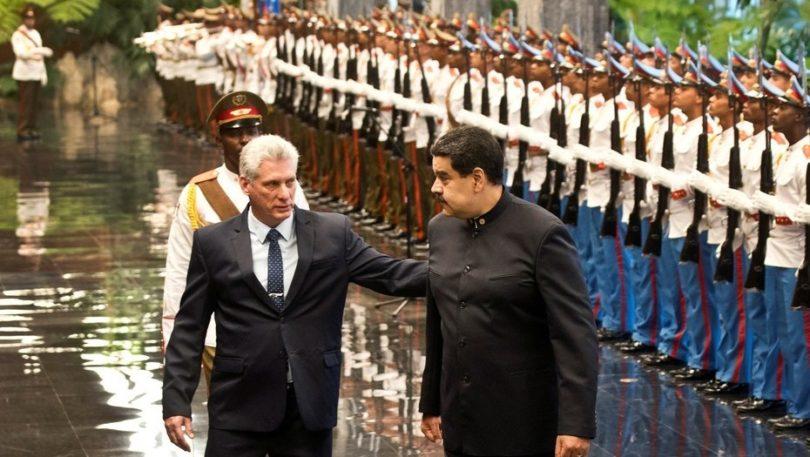 Maduro y Diaz Canel