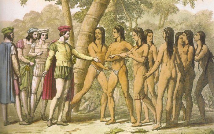 Las mujeres fueron atacadas por los españoles. Foto: Archivo.