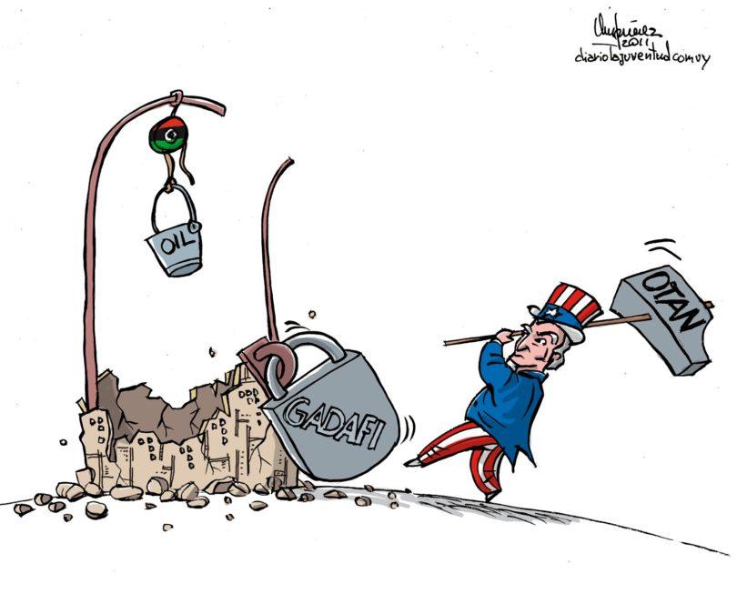p2-Gadafi contra la otan