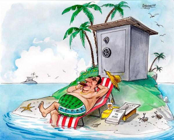karikatur für titelseite-steuerpardies