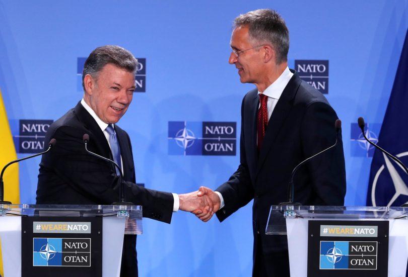 Santos y la OTAN
