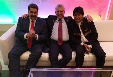 p13-Diaz Canel-Maduro-Evo notaa de Geraldina