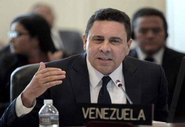 Samuel Moncada en la OEA