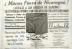 Manos fuera de Nicaragua