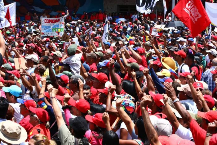 Galeria Pueblo Chavista 23032019.Venezuela Caracas marcha 1