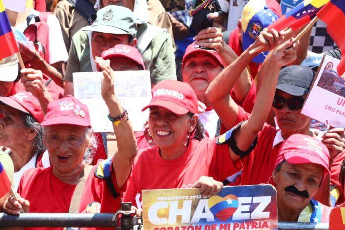 Galeria Pueblo Chavista 23032019.Venezuela Caracas marcha 10