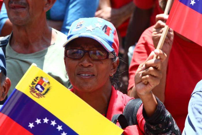 Galeria Pueblo Chavista 23032019.Venezuela Caracas marcha 11