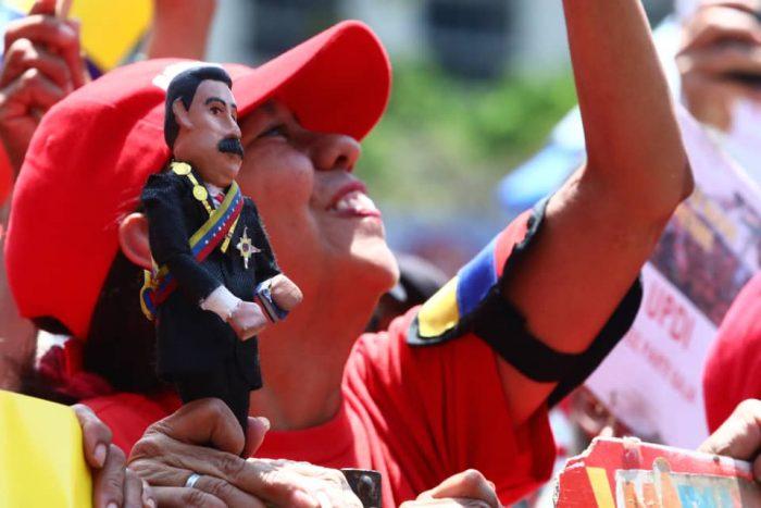 Galeria Pueblo Chavista 23032019.Venezuela Caracas marcha 12