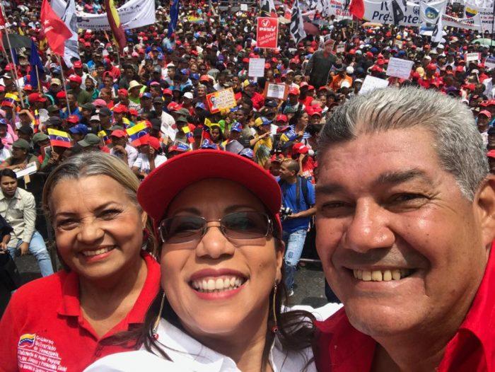 Galeria Pueblo Chavista 23032019.Venezuela Caracas marcha 13
