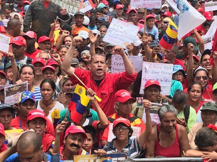 Galeria Pueblo Chavista 23032019.Venezuela Caracas marcha 14