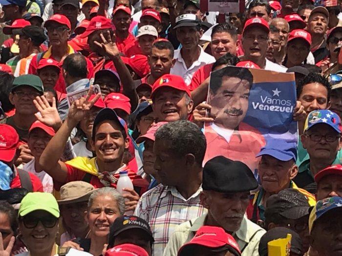Galeria Pueblo Chavista 23032019.Venezuela Caracas marcha 15