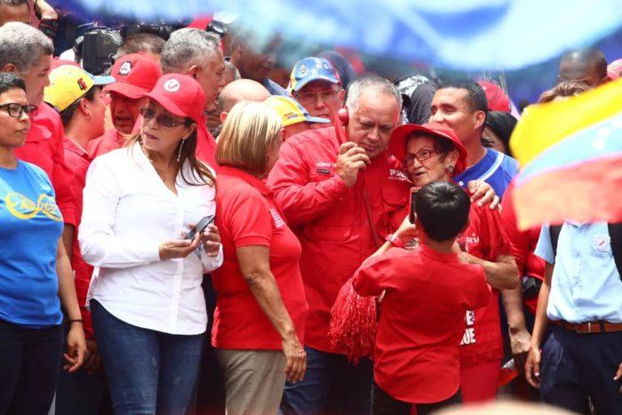 Galeria Pueblo Chavista 23032019.Venezuela Caracas marcha 16