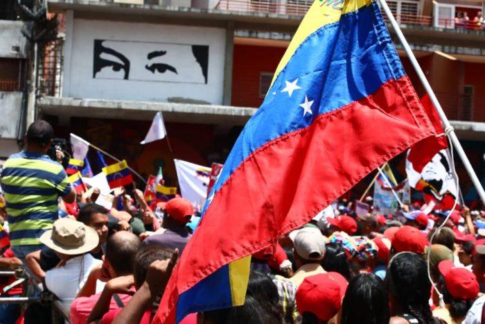 Galeria Pueblo Chavista 23032019.Venezuela Caracas marcha 3