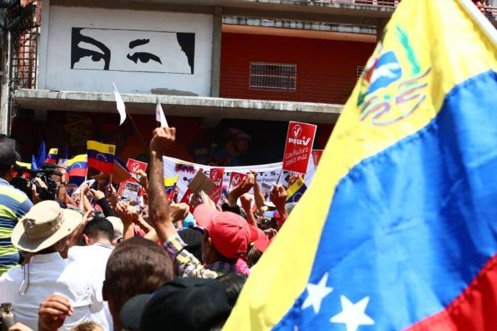Galeria Pueblo Chavista 23032019.Venezuela Caracas marcha 4