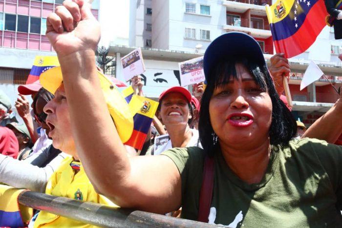 Galeria Pueblo Chavista 23032019.Venezuela Caracas marcha 7