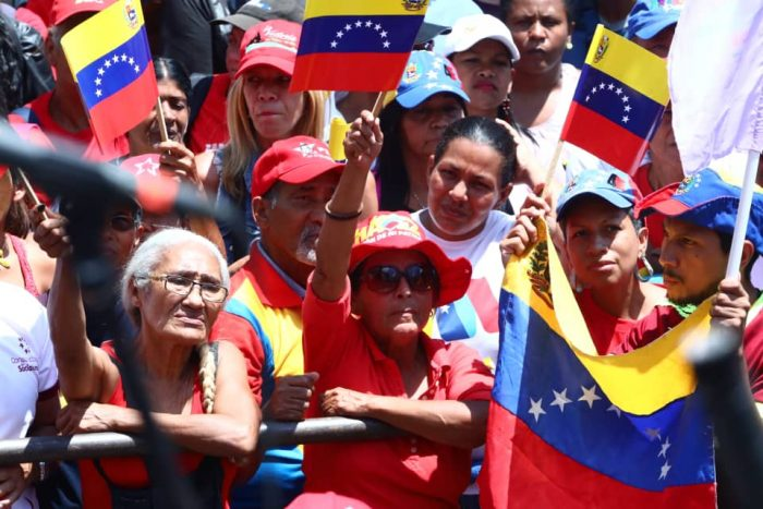 Galeria Pueblo Chavista 23032019.Venezuela Caracas marcha 8