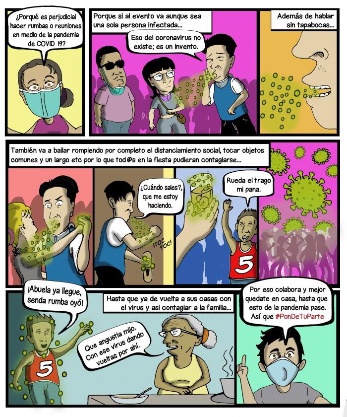 anti covid comics 3
